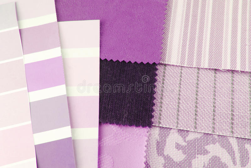 Tapestry and upholstery selection royalty free stock photography