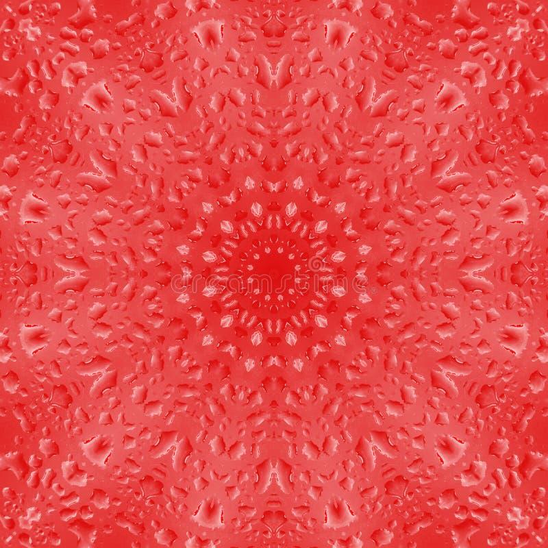 Tapet f?r symmetri f?r droppmodelltextur flytande stock illustrationer