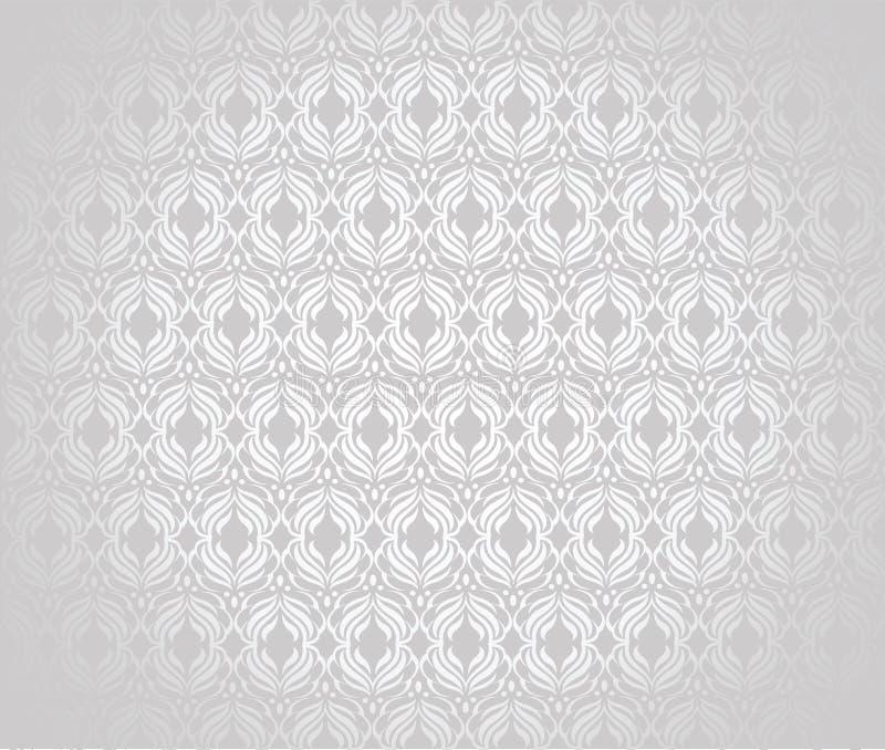 Tapet i stilen av tappning royaltyfri illustrationer