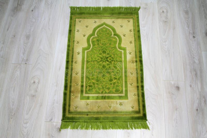 Tapete de oração para muçulmanos foto de stock