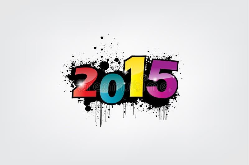 Tapete des neuen Jahres. vektor abbildung