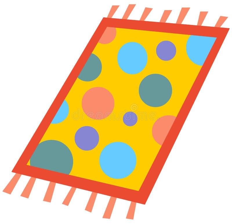 Tapete dos desenhos animados ilustra o do vetor for Dibujos para alfombras