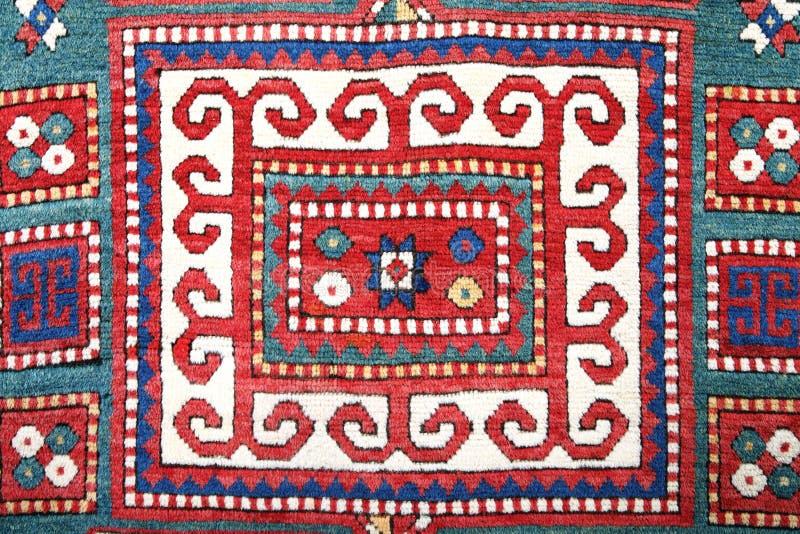 Tapete feito a mão de Azerbajan fotografia de stock royalty free