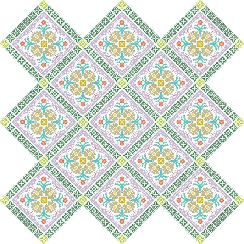 Tapete gefärbt lizenzfreie abbildung