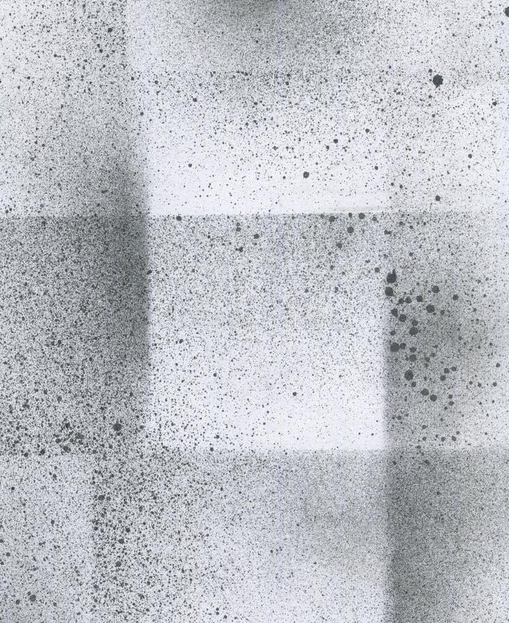 Tapete mit spritzpistoleneffekt schwarze acrylfarben for Schwarze tapete