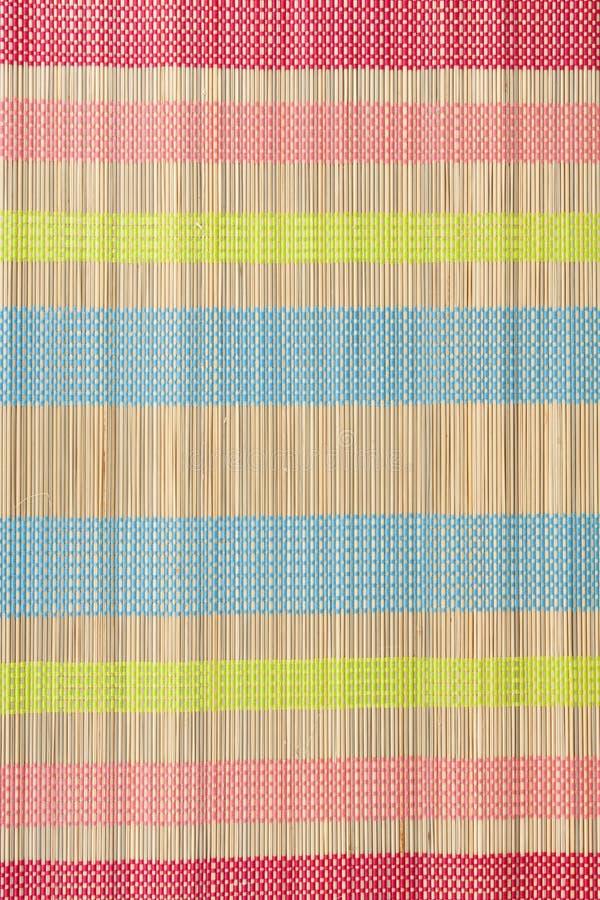 Tapete pequeno da cor do bambu fotos de stock royalty free