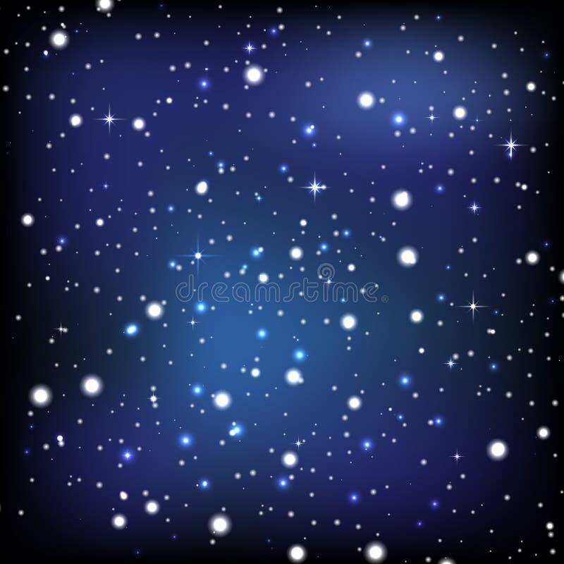 Tapeten för natthimmel arkivfoto