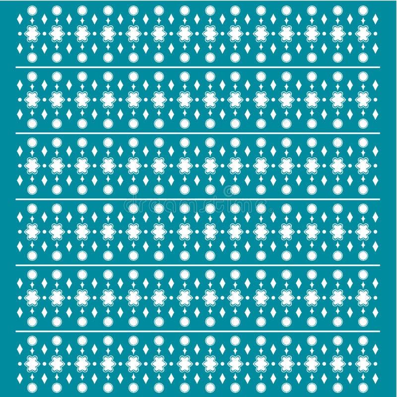 Tapeten-Muster-Retro- Weinlese stock abbildung