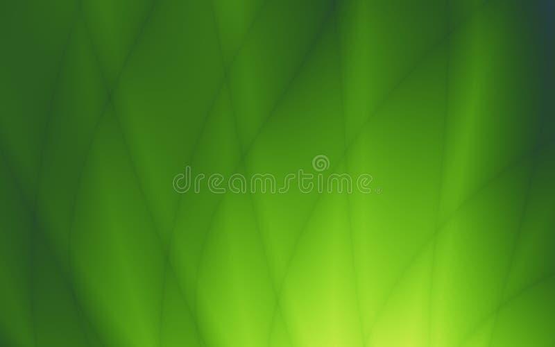Tapeten-Musterdesign des Blattes abstraktes grünes stock abbildung