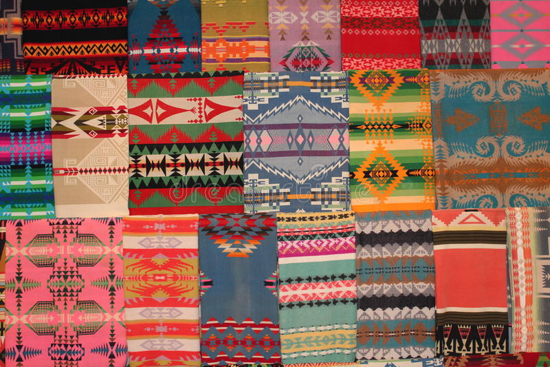 Tapetes do Navajo imagem de stock