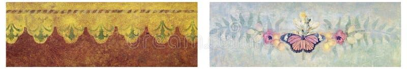 Tapetowej tekstury projekta miękki kolaż zdjęcie royalty free