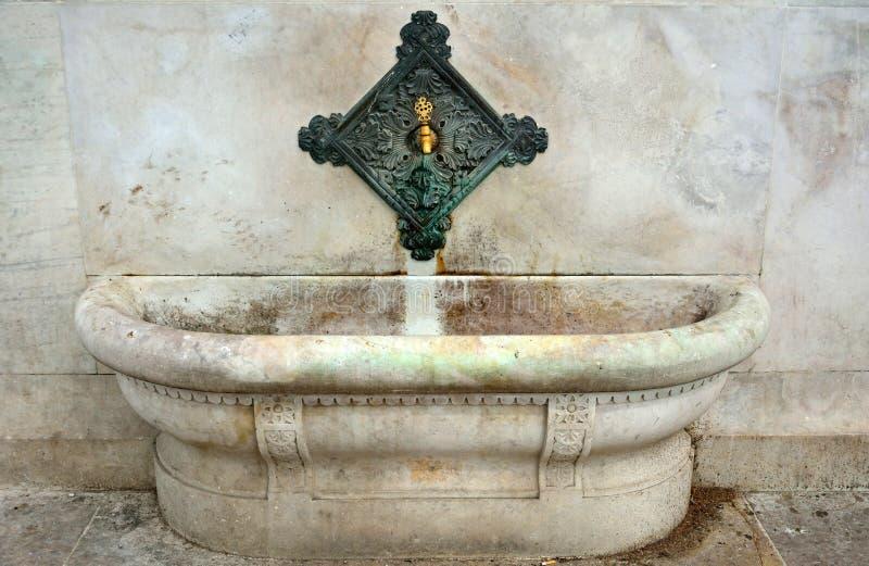 Tapez et évier de Kaiser Wilhelm Fountain à Istanbul photos stock