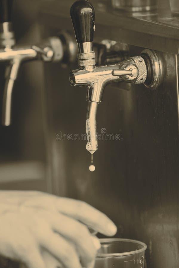 Tapez la bière image libre de droits