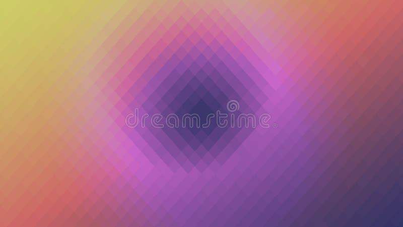 Tapezieren Sie abstrakte gelbe rosa purpurrote Steigung des Hintergrundes im Schweinestall lizenzfreie abbildung