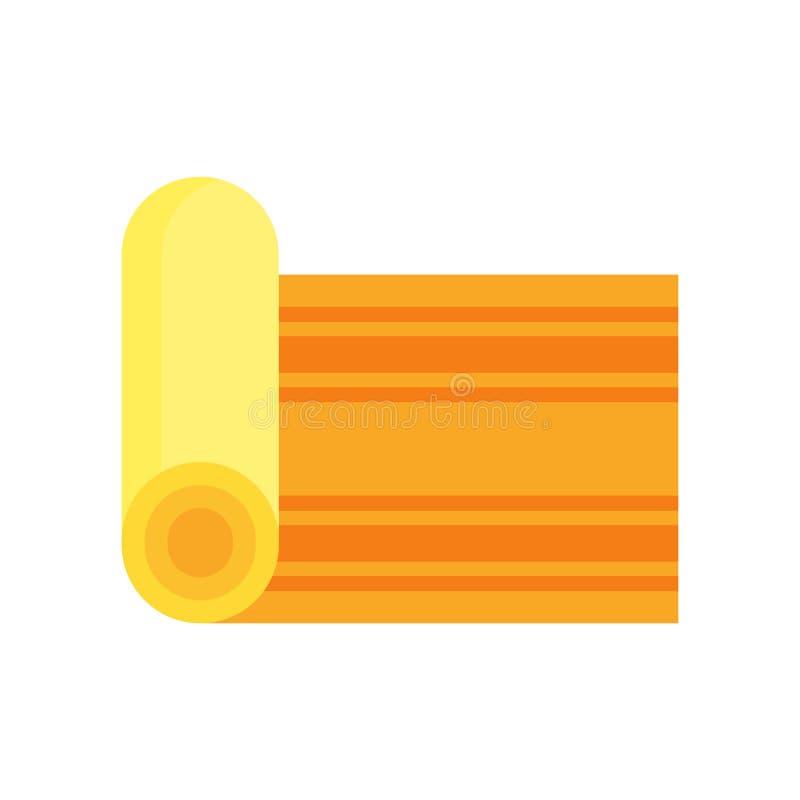 Tapezieren Sie das Ikonenvektorzeichen und -symbol, die auf weißem backgrou lokalisiert werden vektor abbildung