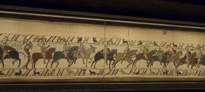 Tapicería de Bayeux foto de archivo libre de regalías