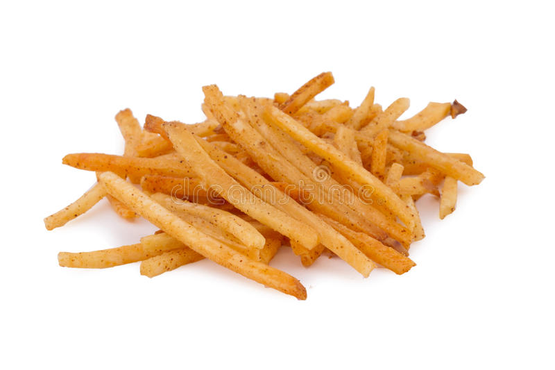Tapioca Chips or Cassava chips. Very tasty deep fried snacks similar to potato chips stock images