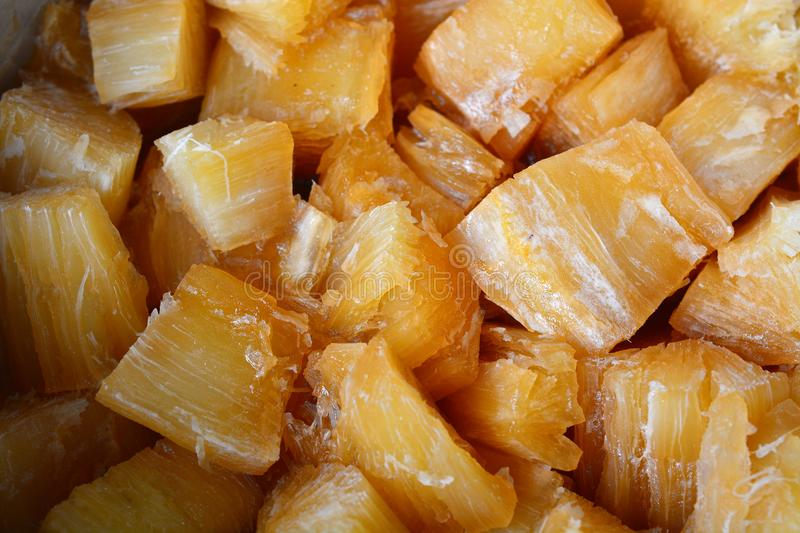 Tapioca in Syrup royalty free stock photo