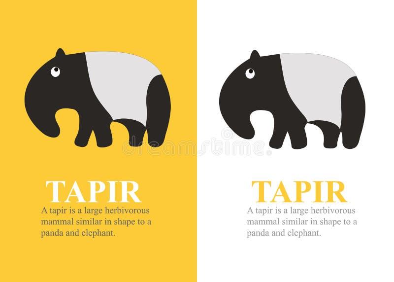 tapir vektor abbildung
