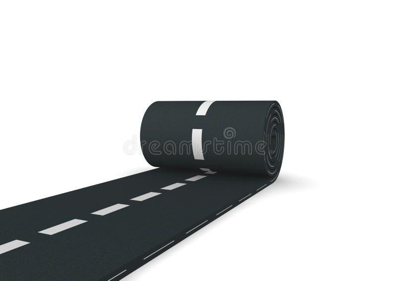 Tapis d'asphalte illustration libre de droits