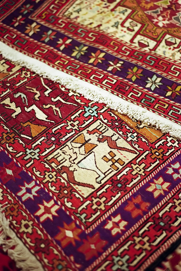 Tapis d'Istanbul images stock