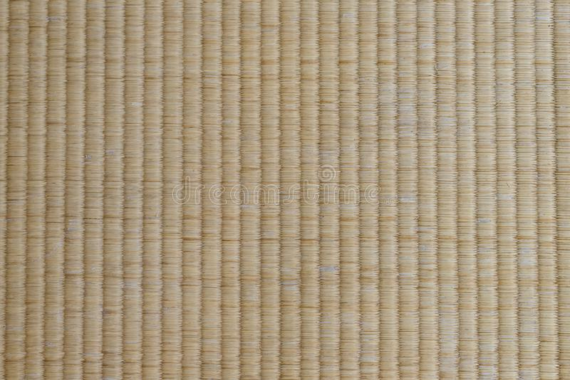 Tapis de Tatami en gros plan - traditionnel japonais matière de texture et de base pour la conception images stock