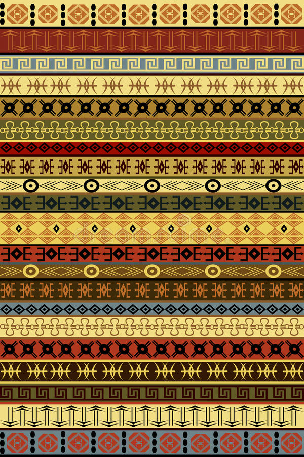 tapis ethnique avec des motifs africains photos libres de droits image 25684598. Black Bedroom Furniture Sets. Home Design Ideas