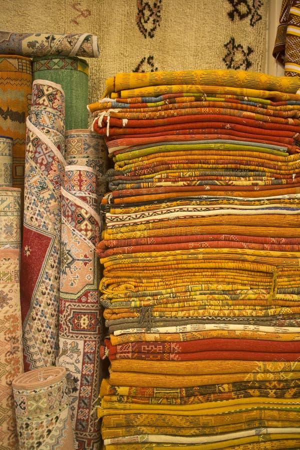 Tapis marocains image stock
