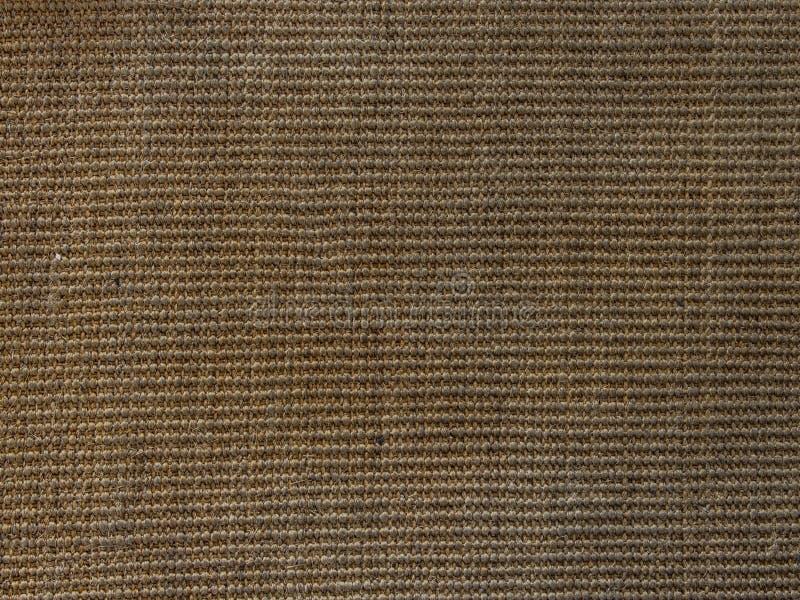 tapis Matériel de sisal abrégez le fond L'espace pour le texte image libre de droits