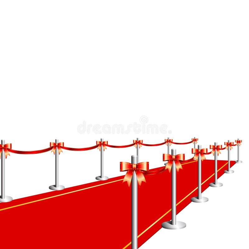 Tapis rouge illustration libre de droits