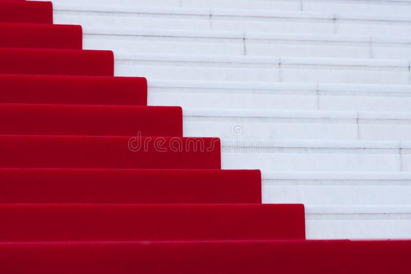 Tapis rouge images libres de droits
