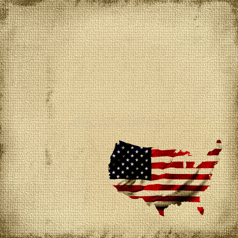 Tapisserie d'indicateur américain illustration de vecteur