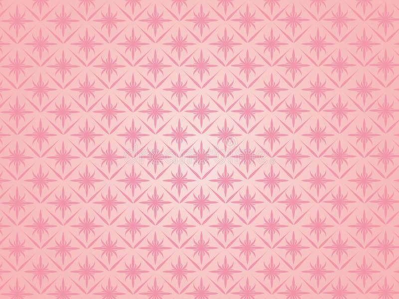 Tapisserie rose. illustration libre de droits