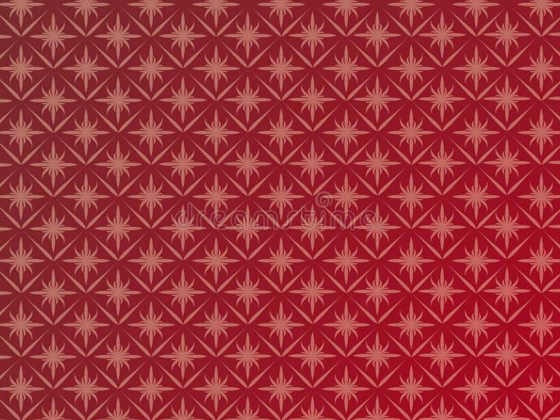 Tapisserie rouge foncé illustration stock
