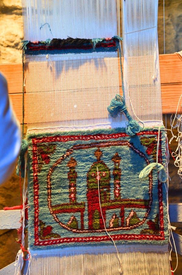 Tapissez les accessoires de tricotage, Azerbaïdjan, Bakou photo stock