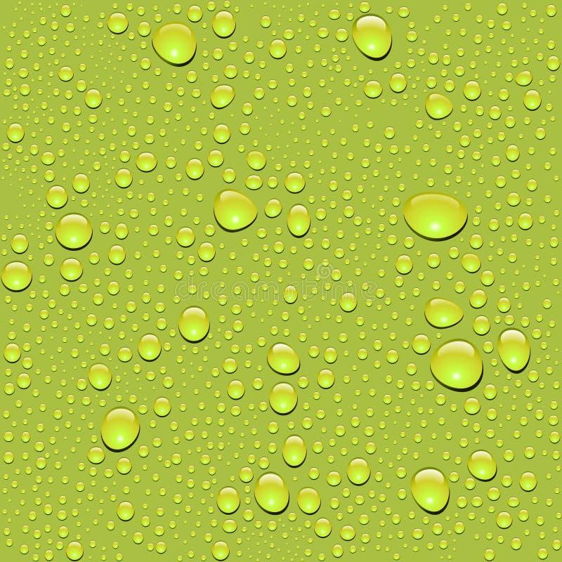 tappa seamless texturvektorvatten royaltyfri illustrationer