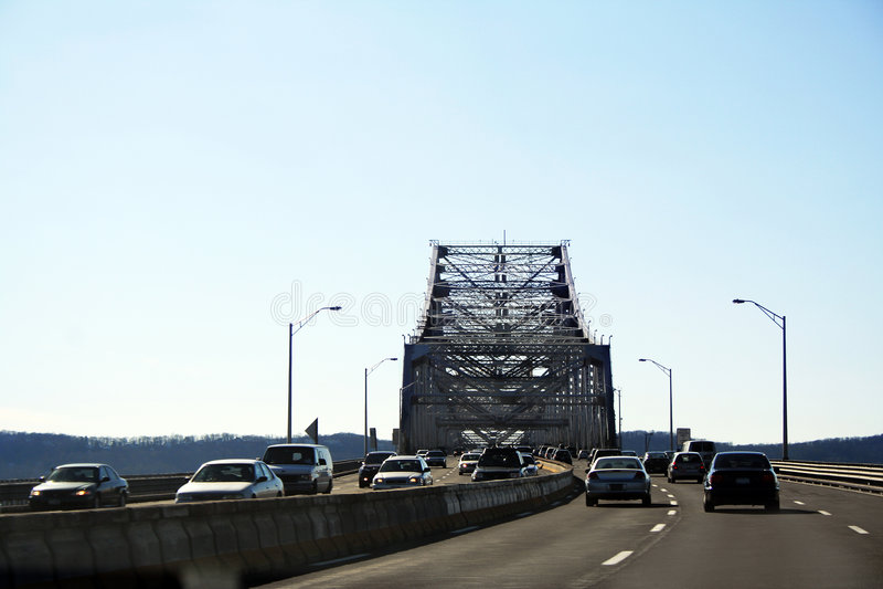 Tappan Zee Brücke stockbild