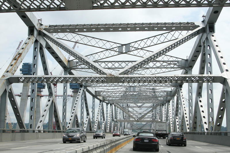 Tappan Zee Brücke stockfoto