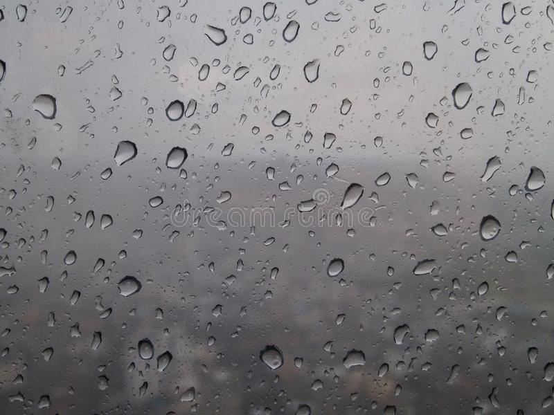 Tappat regn royaltyfri fotografi