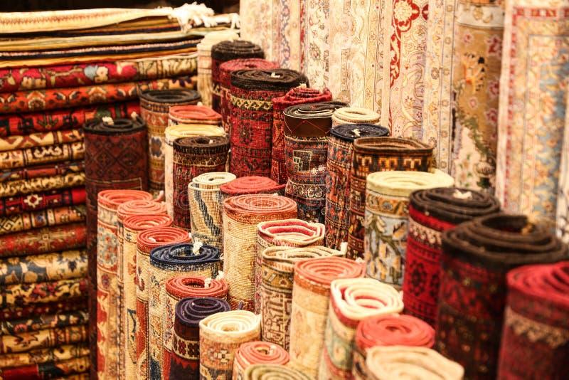 Tappeti turchi in grande bazar immagine stock immagine - Tappeti turchi vintage ...