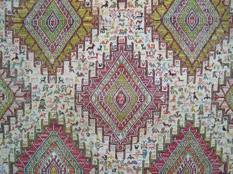 Tappeto antico di motivo, kilim dall'Anatolia immagine stock libera da diritti