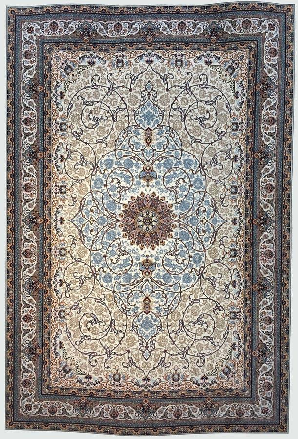 Tappeto tradizionale di Medio Oriente, fondo astratto immagine stock