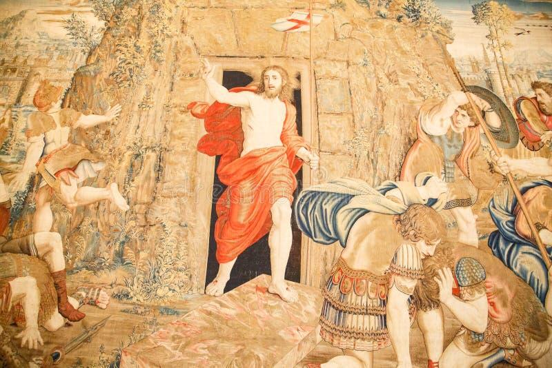 Tappezzeria del Vaticano immagini stock