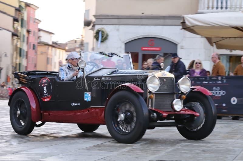 tappning 1000 för bilmigliarace royaltyfri bild