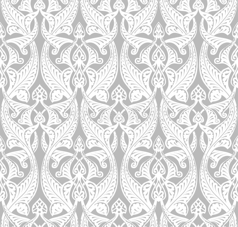 Tappning Art Nouveau Background royaltyfri illustrationer