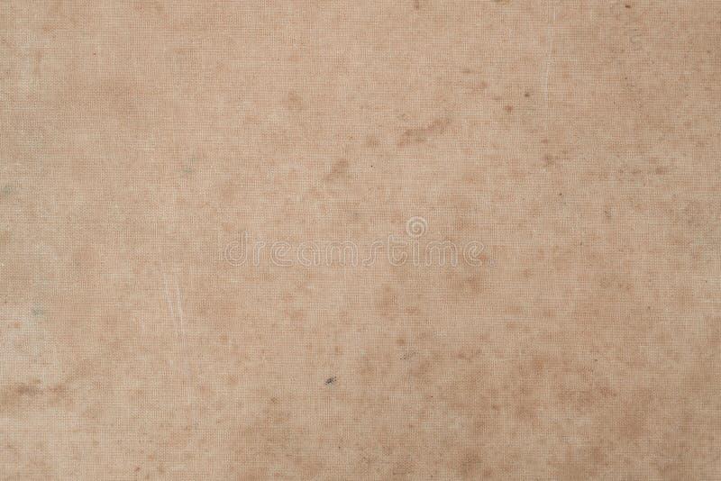 Tappning befläckte gammalt bokomslag gammal paper textur arkivbild