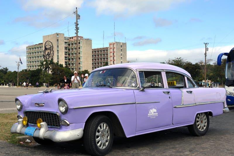 Tappning Chevrolet i havannacigarr royaltyfri fotografi