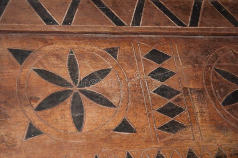 Vintage- eller retrodesign Dekorativt trägolv eller trävägg Trävlad deka Gammal dekorativ parquet Geometrisk mosaik av trä arkivfoton