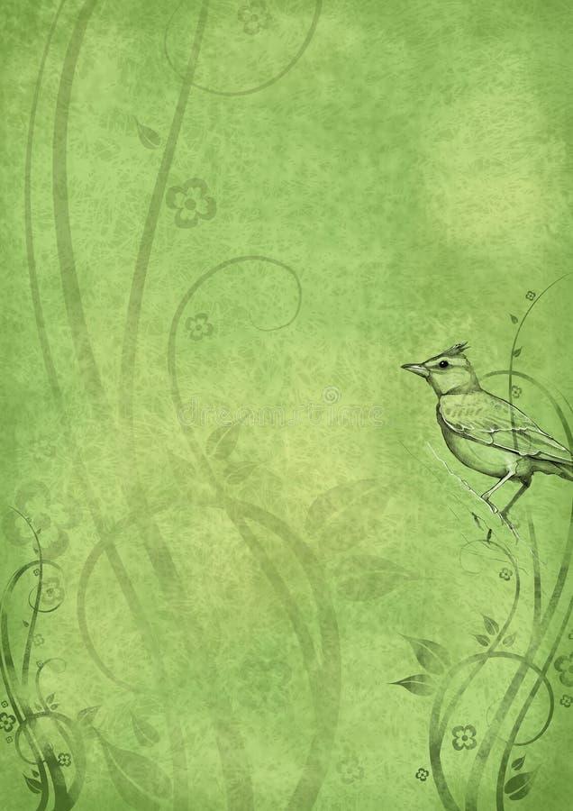 tappning för 05 bakgrund royaltyfri illustrationer