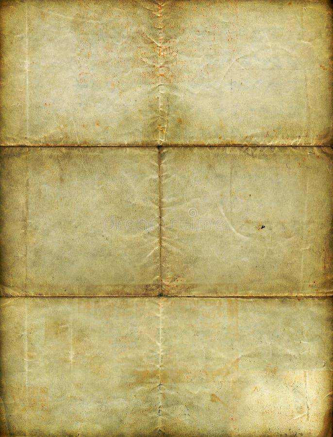 tappning för blankt papper arkivfoton